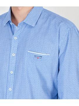 Рубашка Regular с длинными рукавами Lee Cooper MAGNUS 2100 BLUE