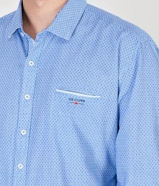 Рубашка Regular с длинным рукавом Lee Cooper MAGNUS 2100 BLUE