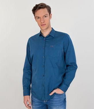 Рубашка Regular с длинным рукавом Lee Cooper CORDIAN 5125 BLUE