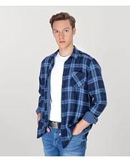 Рубашка Regular с длинным рукавом Lee Cooper CONNY 5167 NAVY