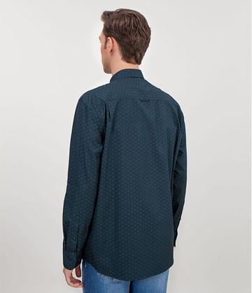Рубашка Slim с длинными рукавами Lee Cooper CONEL 5164 NAVY