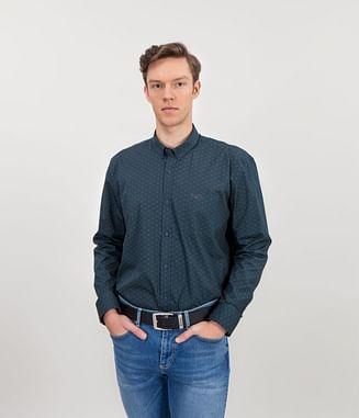 Рубашка Slim с длинным рукавом Lee Cooper CONEL 5164 NAVY