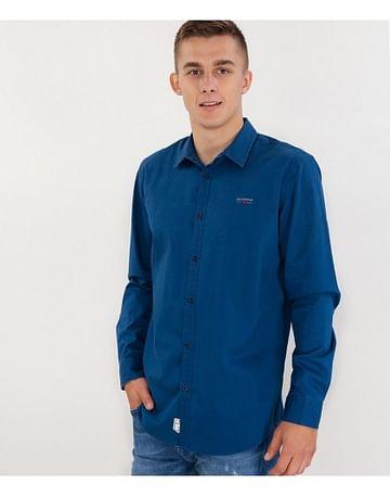 Рубашка Comfort с длинными рукавами Lee Cooper CEFF 5126 BLUE