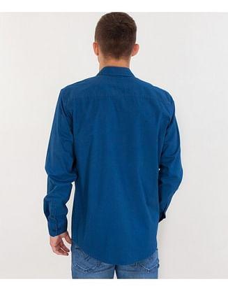 Рубашка Comfort с длинным рукавом Lee Cooper CEFF 5126 BLUE