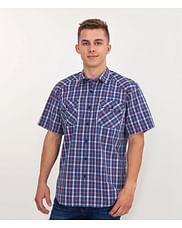 Рубашка Comfort в клетку с короткими рукавами Lee Cooper CRAFT2 KL23 RED