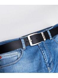 Ремень кожаный Lee Cooper LCJ 001 BLACK