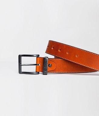 Ремень кожаный Lee Cooper LCJ 007 BROWN