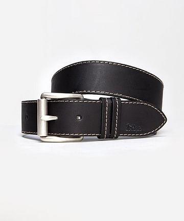 Ремень кожаный Lee Cooper LCJ 81 BLACK/NAVY/BROWN