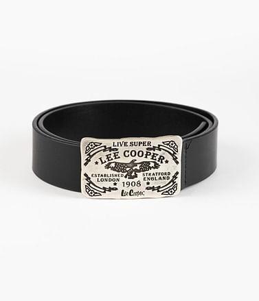 Ремень кожаный Lee Cooper LCJ 92 BLACK