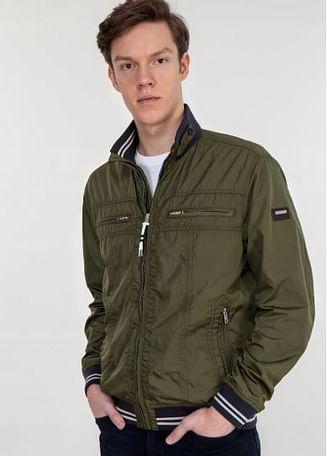 Куртка с карманами на груди Lee Cooper MERLE 1800 GREEN