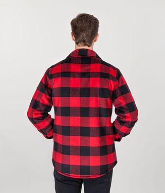 Куртка в клетку Lee Cooper ANDREW 8049 RED