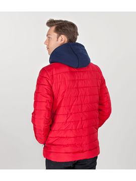 Куртка с наушниками в капюшоне Lee Cooper ALEXANDER 1901 RED