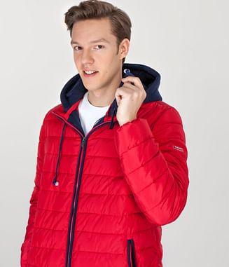 Куртка с наушниками Lee Cooper ALEXANDER 1901 RED
