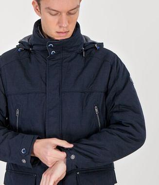 Куртка с капюшоном Lee Cooper AUSTIN 7067 NAVY