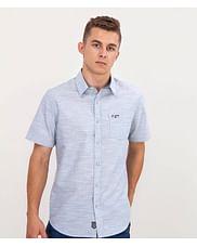 Рубашка Slim с короткими рукавами Lee Cooper RENAT2 5159 GREY