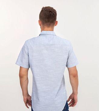 Рубашка Slim с коротким рукавом Lee Cooper RENAT2 5159 GREY