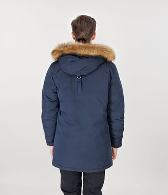 Куртка со съемным капюшоном Lee Cooper ALOIS 1901 NAVY