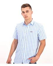 Рубашка Regular в клетку Lee Cooper ROMAN2 1056 BLUE