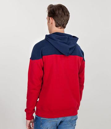 Худи с капюшоном и карманом-кенгуру Lee Cooper JEFF 8480 RED