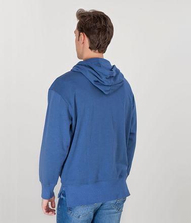 Худи с карманом-кенгуру Lee Cooper JIM 8410 COAL BLUE/GREY MELANGE