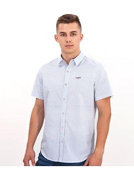 Рубашка Slim с мелким принтом Lee Cooper RUBENS2 1046 WHITE