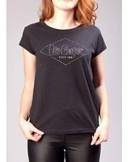 Хлопковая майка с логотипом Lee Cooper LIRA 1001 BLACK