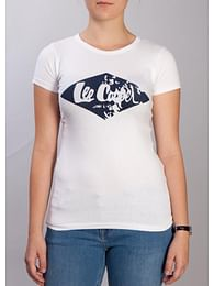 Майка с логотипом Lee Cooper LARA 1001 WHITE