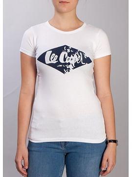 Майка с логотипом Lee Cooper LARA 1001 WHITE