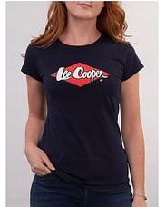 Майка женская с логотипом спереди Lee Cooper LOGAN 1017 NAVY