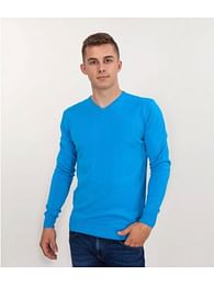Хлопковый свитер Lee Cooper ADAM COTTON AQUATIC BLUE