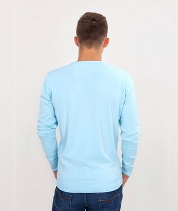 Свитер хлопковый Lee Cooper ADAM COTTON MORNING BLUE