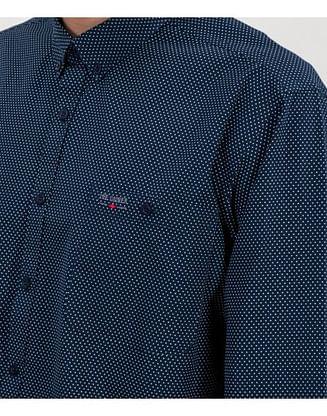 Рубашка Comfort с длинным рукавом Lee Cooper NEW TENBY MP07 NAVY