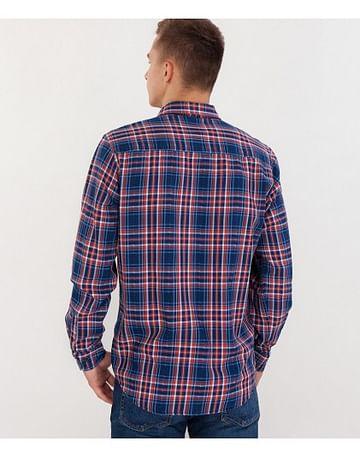 Рубашка Regular в клетку Lee Cooper CANELON 5166 NAVY