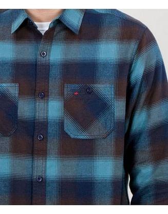 Рубашка Regular в клетку Lee Cooper DOBEN 8952 NAVY