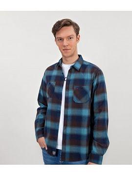 Рубашка Regular в клетку с длинными рукавами Lee Cooper DOBEN 8952 NAVY