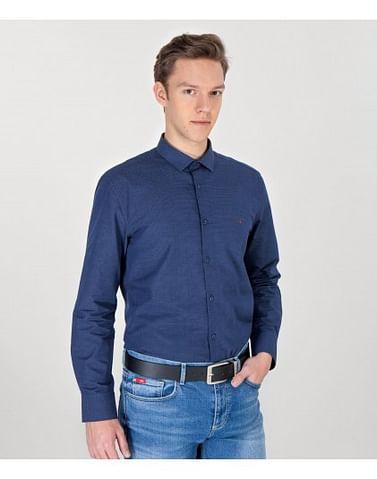 Рубашка Slim с длинными рукавами Lee Cooper TOD 2507 NAVY