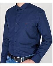Рубашка Slim с длинным рукавом Lee Cooper TOD 2507 NAVY