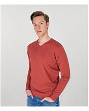 Хлопковый свитер Lee Cooper ADAM COTTON DIRTY RED