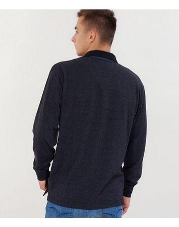 Джемпер-поло с длинными рукавами Lee Cooper JOE 8720 BLUE/BLACK