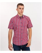 Рубашка Regular в клетку Lee Cooper WIGOR2 2000 RED