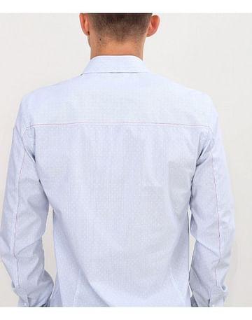 Рубашка Slim с микропринтом Lee Cooper DANIELS PM35 WHITE