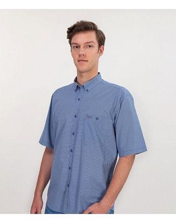Рубашка Comfort с короткими рукавами Lee Cooper NEW TENBY2 PM54 BLUE