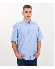 Рубашка Comfort с короткими рукавами Lee Cooper NEW TENBY2 PL45 BLUE