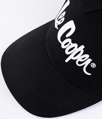Бейсболка с логотипом Lee Cooper CAP 1604 BLACK