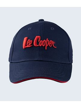 Бейсболка с логотипом Lee Cooper CAP 0601 NAVY
