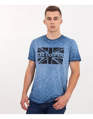 Майка индивидуально окрашенная Lee Cooper VITO 8018 BLUE