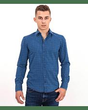 Рубашка Slim с длинным рукавом Lee Cooper WILLY 2910 BLUE