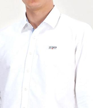 Рубашка Regular c длинным рукавом Lee Cooper WIT 9136 WHITE