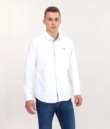 Рубашка Regular c длинными рукавами Lee Cooper WIT 9136 WHITE