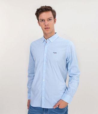 Рубашка Regular с длинным рукавом Lee Cooper WOLTER 1470 BLUE